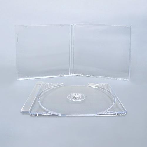 KSシリーズCDジュエルケース シングル透明 組立無し