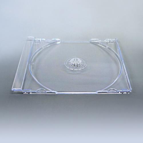 KSシリーズCDジュエルケース シングル透明 トレイのみ