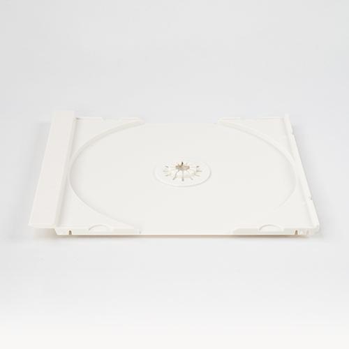 SJシリーズCDジュエルケース シングル白 トレイのみ