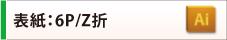 表紙:6P/Z折